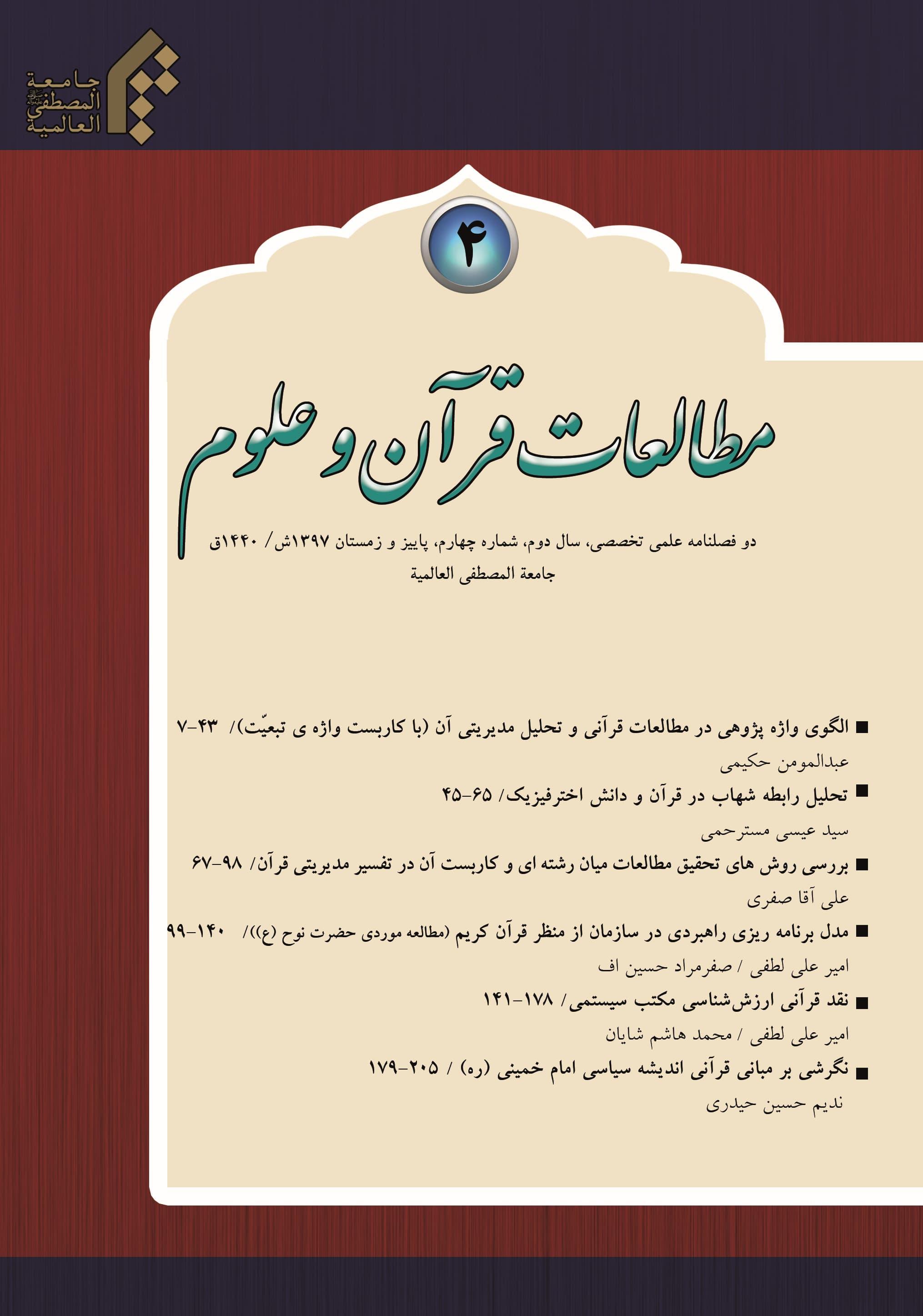 مطالعات قرآن و علوم